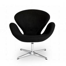 Swan Chair Black inspired by Arne Jacobsen
