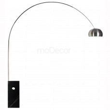 Arco Lamp Black inspired by Achille Castiglioni