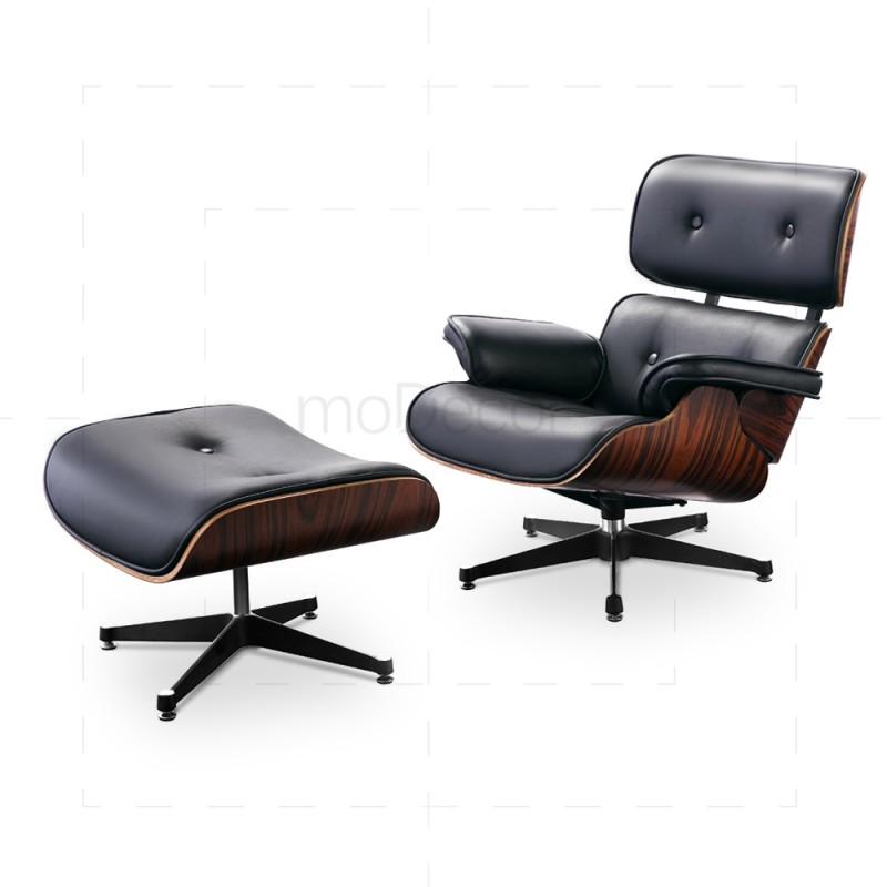 Sensational Eames Lounge Chair And Ottoman By Charles And Ray Eames Uwap Interior Chair Design Uwaporg