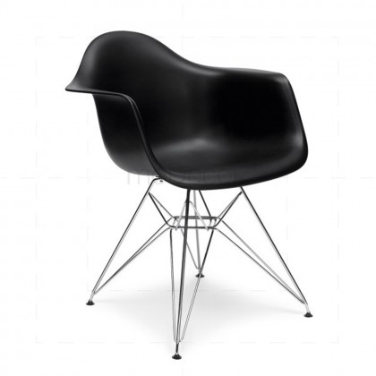 Eames DAR Chair Black insp by Charles Eames
