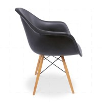 Eames DAW Chair Black insp by Charles Eames