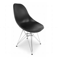 Eames DSR Chair Black insp by Chares Eames
