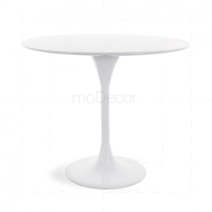 Eero Saarinen Round Tulip Table Large White - Reproduction