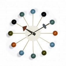 George Nelson - Ball Clock Multicolor - Reproduction