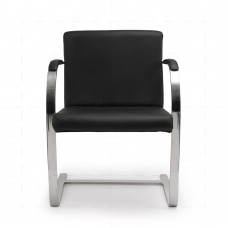 Brno Chair Black Leather
