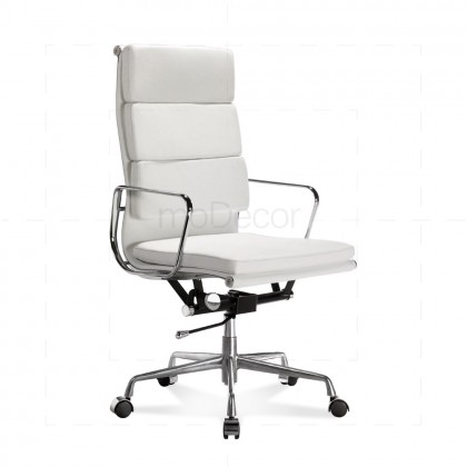 Eames Office Chair - Softpad - High Back White - Reproduction