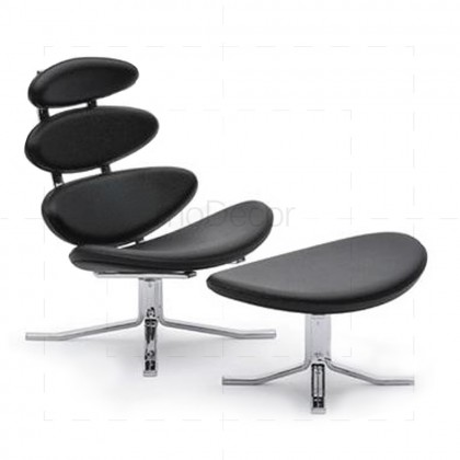 Corona Chair inspired by Poul M Volther